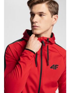 Men's active hoodie 4Hills BLMF200a - red