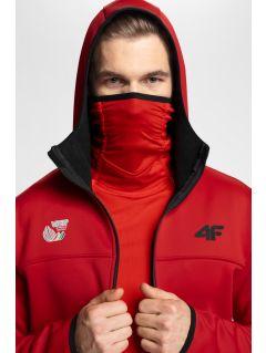 Men's fleece hoodie 4Hills PLM100 - red