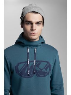 Men's hoodie Kamil Stoch Collection BLM503 - sea green