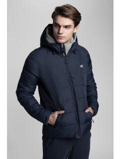 Men's down jacket Kamil Stoch Collection KUM500 - navy
