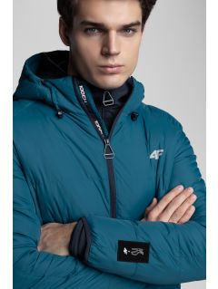 Men's down jacket Kamil Stoch Collection KUM500 - sea green