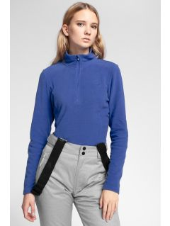 Women's fleece underwear BIDP300 - cobalt blue