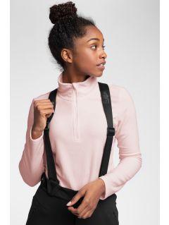 Women's fleece underwear BIDP300 - light pink
