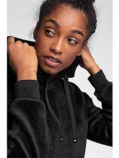 Women's hoodie BLD228 - black