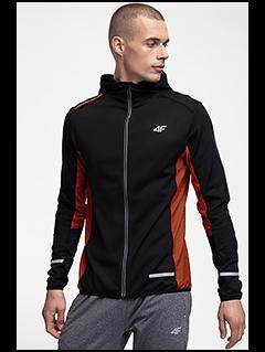 Men's active hoodie BLMF252 - black