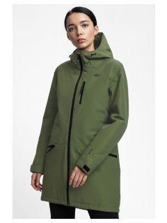 Women's urban jacket KUD203 - khaki
