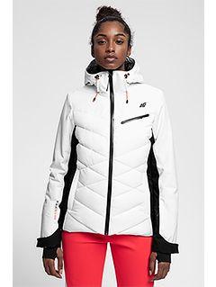 Women's ski jacket KUDN256 - white