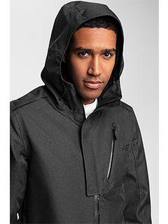 Men's urban jacket KUM205 - black melange