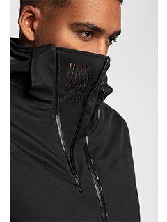 Men's ski jacket KUMN152 - black