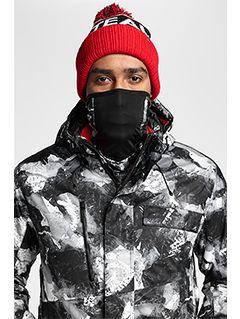 Men's ski jacket KUMN253 - multicolor allover