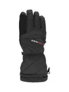 Men's ski gloves REM150 - black