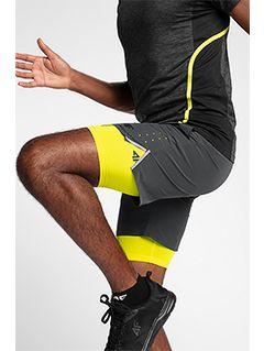 Men's active shorts SKMF151 - dark grey