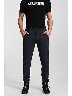 Men's sweatpants SPMD300 - denim melange