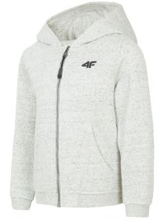 Hoodie for younger children (boys) JBLM101 - light grey melange