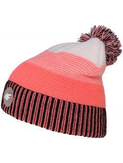Hat for older children (girls) JCAD206 - coral