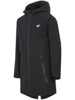 Softshell jacket for older children (boys) JSFM200 - black