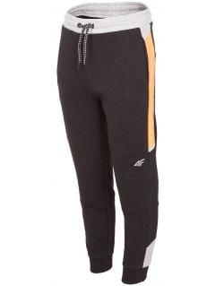 Sweatpants for older children (boys) JSPMD207 - black