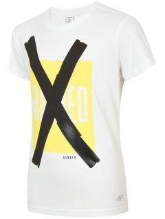T-shirt for older children (boys) JTSM206 - white