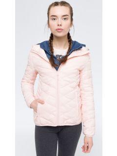 Women's down jacket KUD005 - light pink
