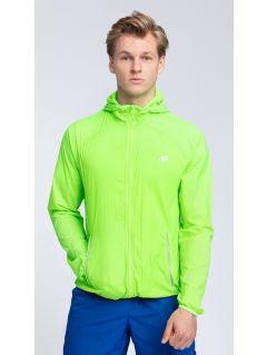 Men's active jacket KUMTR001 - neon green