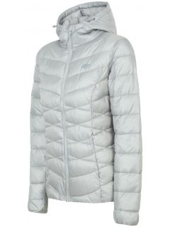Women's down jacket KUDP211 - silver
