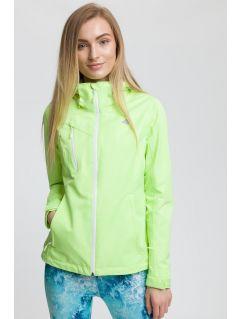 Women's urban jacket kud010 - neon yellow