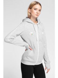 Women's hoodie 4Hills BLD100 - grey melange