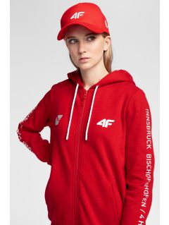 Women's hoodie 4Hills BLD100 - red