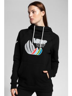 Women's hoodie 4Hills BLD101 - black