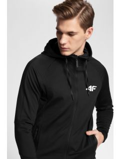Men's active hoodie 4Hills BLMF200a - black