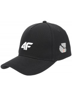Unisex baseball cap 4Hills CAU100 - black