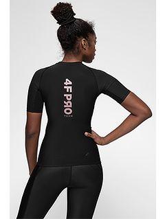 Women's compression T-shirt 4FPro TSDF400a -  black