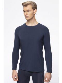 Men's base layer long sleeve shirt 4FPro TSML400 - navy