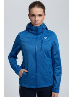 Women's softshell jacket SFD002 - blue melange
