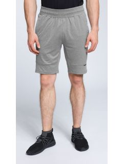Men's active shorts SKMF007 - light grey