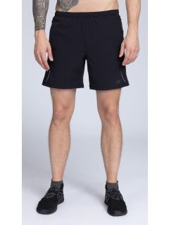 Men's active shorts SKMF251 -  black