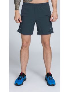 Men's active shorts SKMF251 -  dark gray