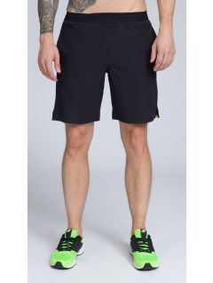 Men's active shorts SKMF255 - green