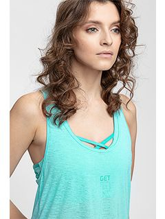 Women's active tank top tsdf255 - turquoise