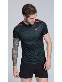 Men's active T-shirt TSMF258 - black