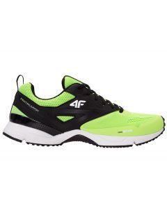 Men's running shoes OBMS100 - neon green