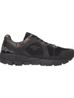 Men's running shoes OBMS101 - black