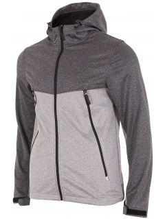 Men's softshell jacket SFM004 - gray melange