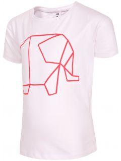 T-shirt for small girls Jtsd102b - white