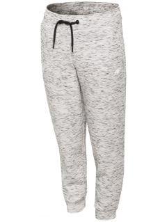 Active pants for small girls JSPDTR301 - light grey