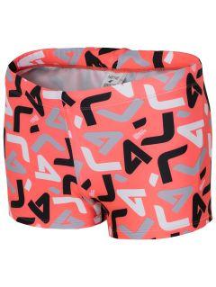 Swim trunks for small boys JMAJM101 - red