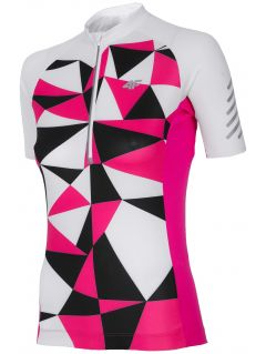 Women's cycling jersey RKD152a - white