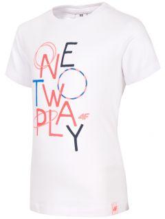 T-shirt for small girls JTSD108 - white