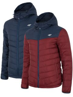 Men's down jacket KUM054 - dark navy