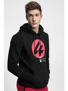 Men's hoodie BLM266 - black